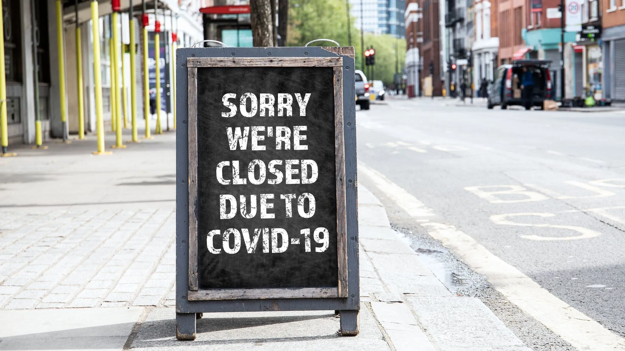 Businesses are closing due to Covid-19